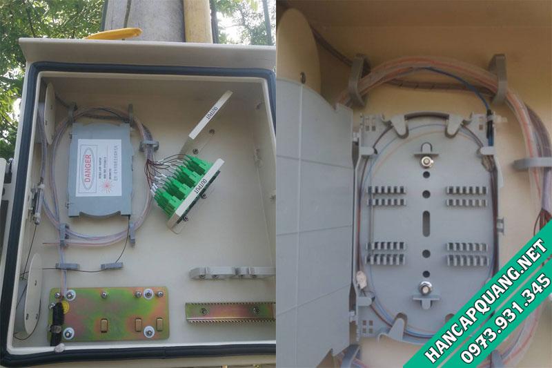 Dự án hàn cáp quang GPON Viettel Kỳ Anh - Hà Tĩnh